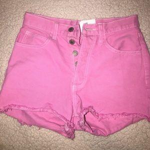 Brandy Melville pink shorts!